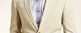 Big & Tall Collezione 2 Button Plain Suit with Linen